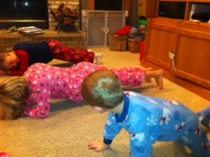 family plank night