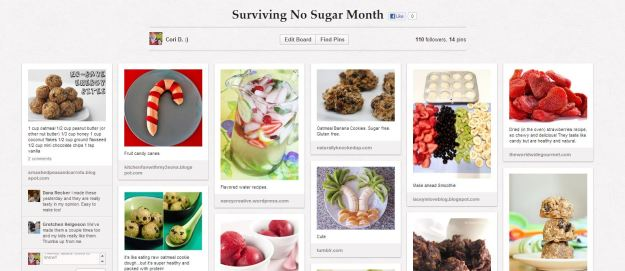 Surviving No Sugar Month