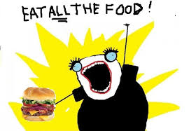 eat all the food