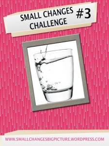 small changes challenge water