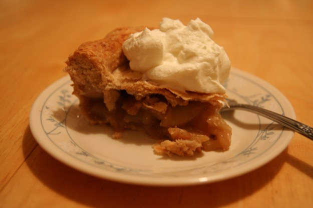 I should not admit how many pieces of pie I had over the weekend.