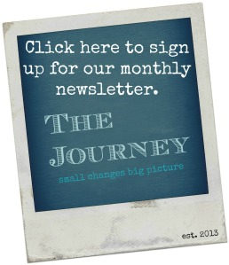 journey newsletter sign up