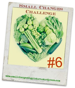 small change challenge 6 veggie