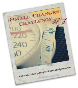 small changes challenge 7