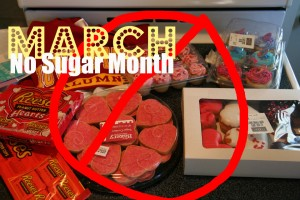 Last year I did a no sugar month in March.