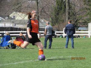 maddy soccer